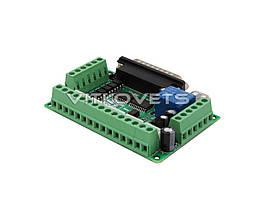 Интерфейсная плата LPT на 5 координат BL-MACH-V1.1 (без USB и LPT кабелей), фото 3