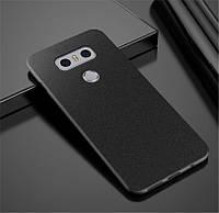 Тонкий матовый силиконовый чехол для LG G6