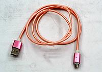 Магнитный кабель MicroUSB DM-M12