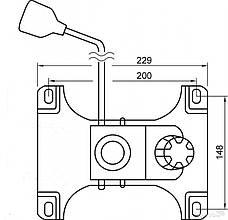 Механизм качания офисного кресла (TILT) АМФ 150х200, фото 3