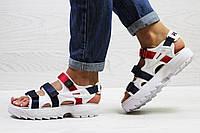 Женские сандали в стиле Fila, белые 36 (23 см)