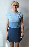 Платье  2050-16 Promin S Голубой / Синий