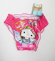 Купальные детские плавки для девочки от 1 до 4 лет Малиновый