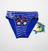 Купальные детские плавки на мальчика Teres Синий