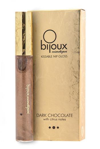 Съедобный блеск для окрашивания и возбуждения сосков Bijoux Indiscrets Nip Gloss Chocolate