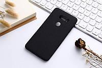 Тонкий матовый силиконовый чехол для LG V30