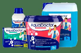 Набор химии AquaDOCTOR для ухода за водой в бассейне