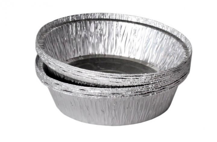 Контейнер SPT51L алюминиевый круглый PRO service 800 мл дом кафе ресторан хранение доставка еды 100 шт.