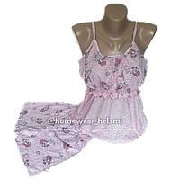 Пижама топ и шорты для беременных и кормящих