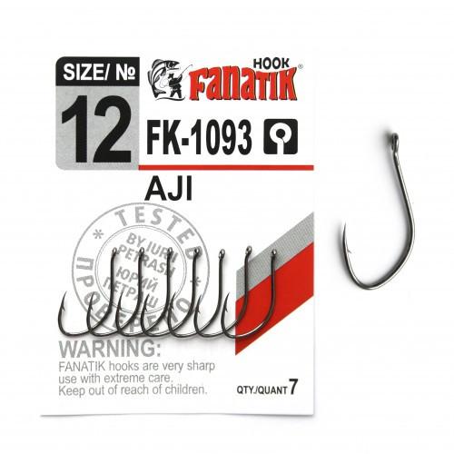 Крючок Fanatik AJI FK-1093 №12 (7 шт.)