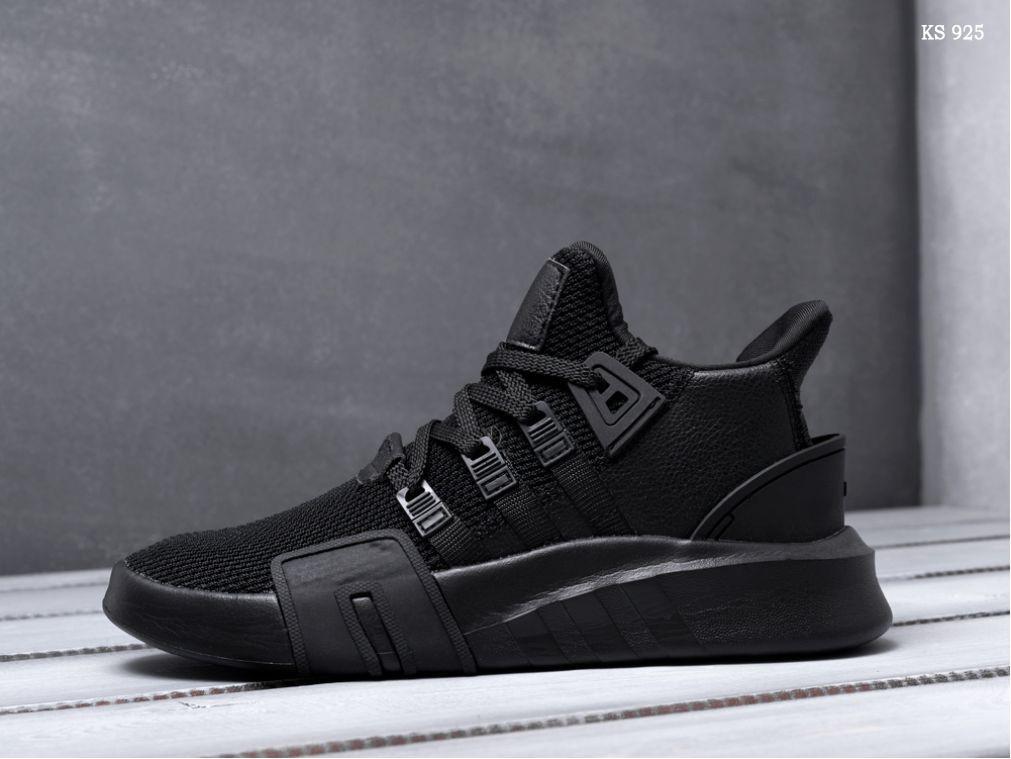 becbea36 Мужские кроссовки в стиле Adidas EQT Bask ADV, черные - Super Star в Киеве