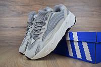 Мужские кроссовки в стиле Adidas yeezy 700 boost v2, серые 43 (27,5 см)