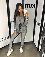 Костюм женский брюки и пиджак 116