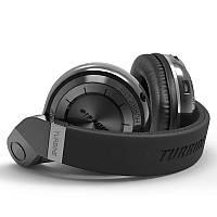 Bluedio T2 Plus - Беспроводные Bluetooth наушники со встроенным радио (Черный) - 911455