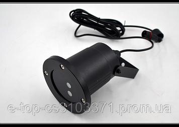 Лазерный звездный проектор с пультом Star Shower Laser Light (металл)