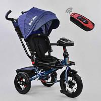 Детский трехколесный велосипед Best Trike 6088F-1560 с пультом синий (6088F-1560 синий)