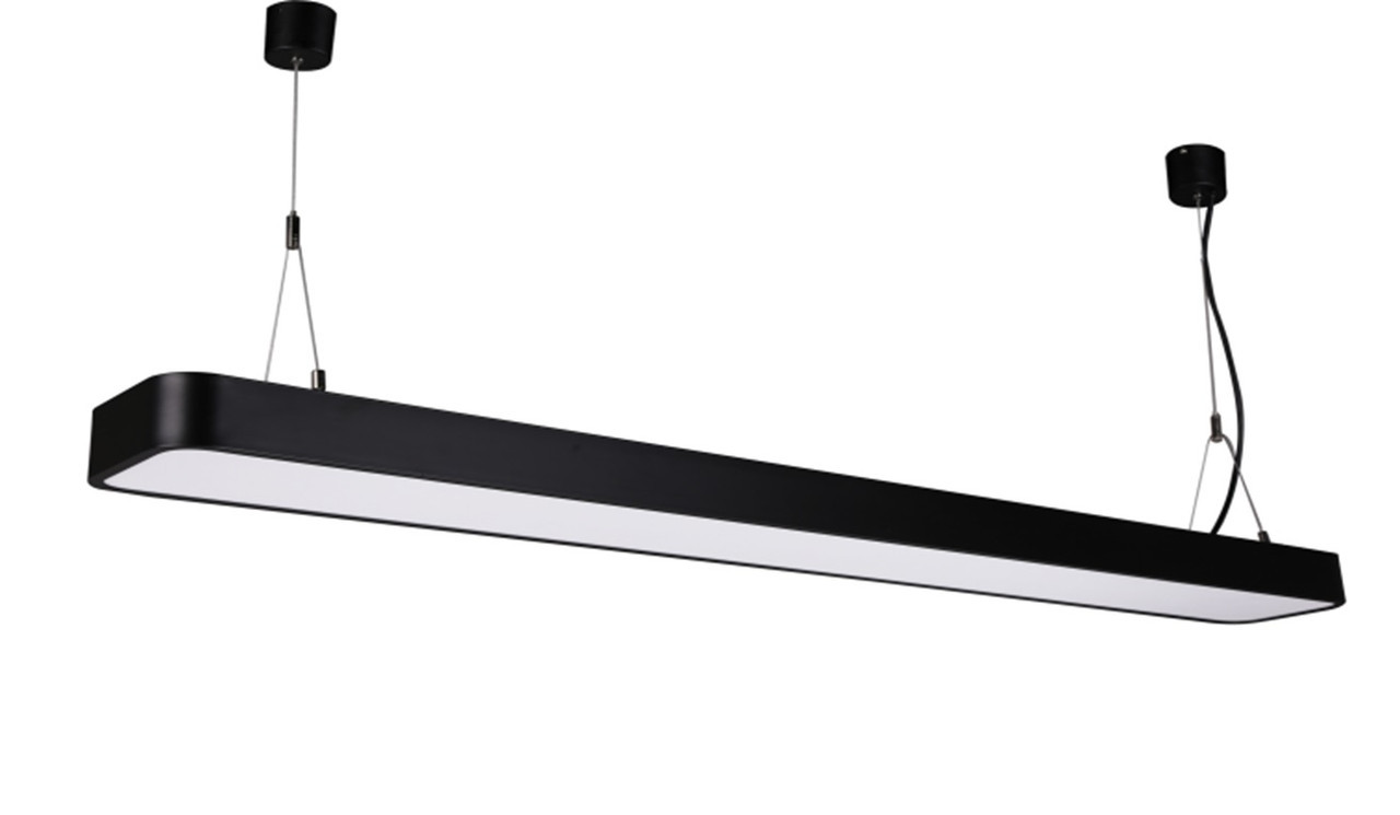 Светильник подвесной линейный LED 48463-48  120cм  48W 4000K, 220В IP20 черный