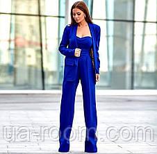 Женский костюм-двойка пиджак + комбинезон №541, фото 2