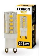 Лампа світлодіодна G9, 3 Вт, 220 V, 280 Lm, 360*