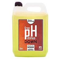 5 л Корректор pH Down/minus Grow