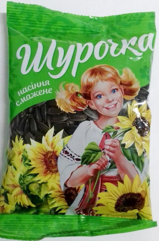 """Насіння соняшника смажене """"Шурочка"""" 90г"""