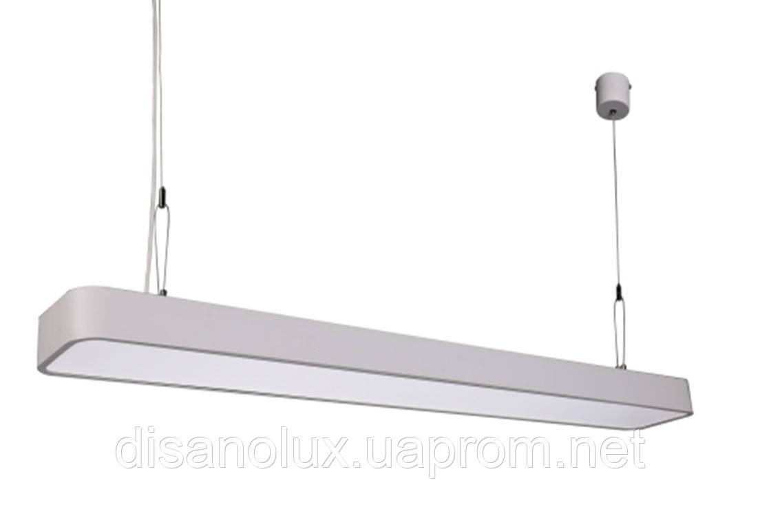 Светильник подвесной линейный LED 48473-44 150cм  44W 4000K, 220В IP20 белый