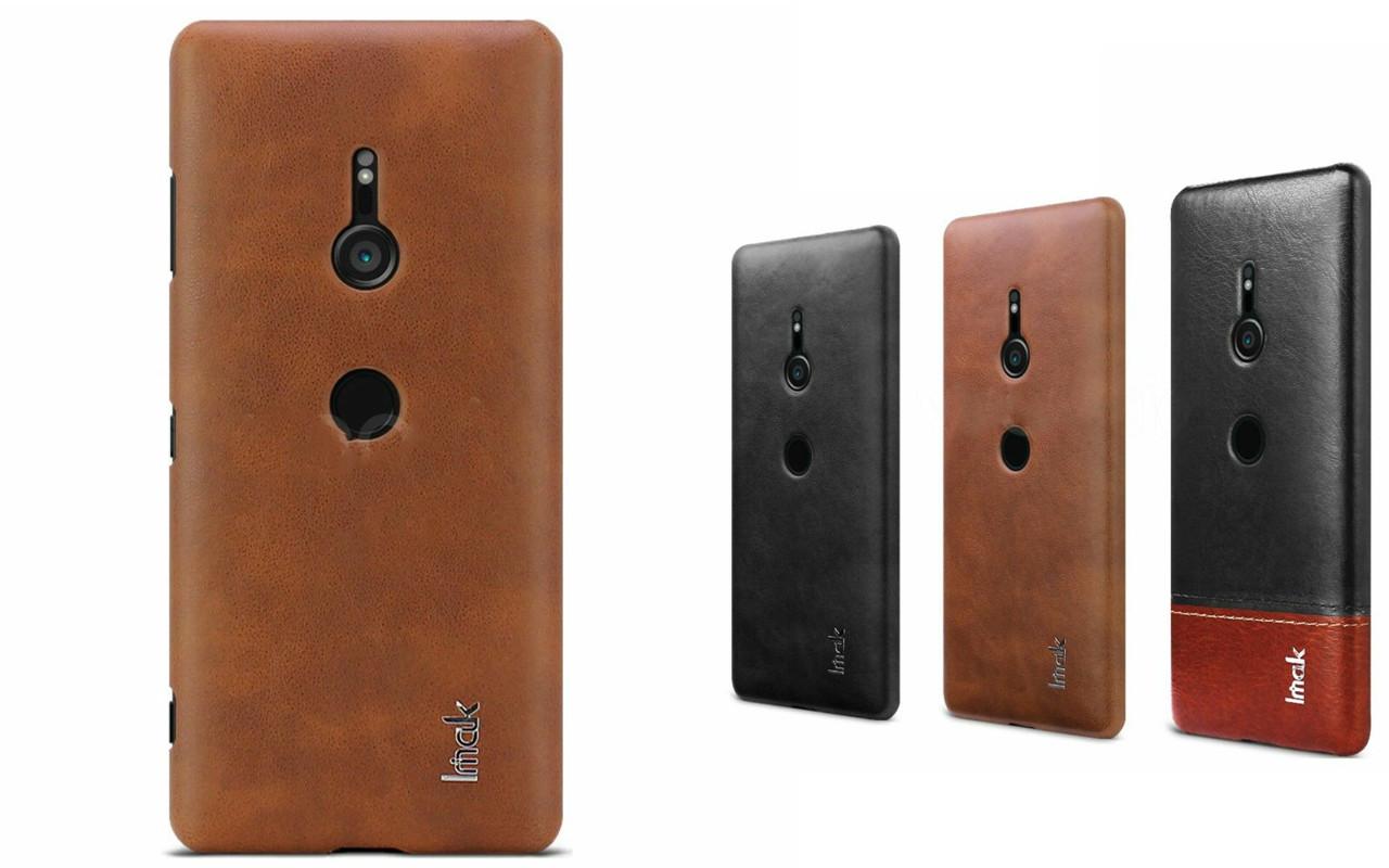 Бампер для Sony Xperia XZ3 - Brown - IMAK Cover