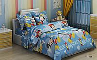 Постельное белье Микки голубой, фото 1