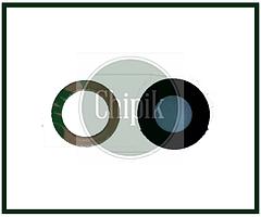 Стекло (окошко камеры) для Apple iPhone XR, iPhone 10R, черное