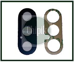 Стекло (окошко камеры) для Apple iPhone XS, XS Max, iPhone 10S, iPhone 10S Max, черное