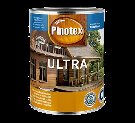 Pinotex ultra БЕЛЫЙ / 1 л. /(вед.), фото 2
