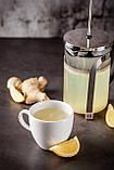 Имбирь с лимоном, протёртые с сахаром 0,5 кг, фото 2