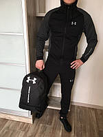 Спортивный костюм Under Armour BLACK/GRAY, фото 1