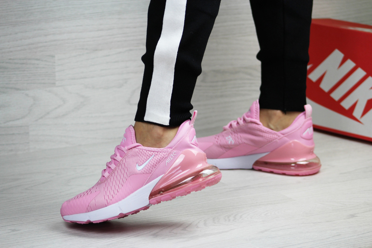 21dd1ae4 Женские Кроссовки в Стиле Nike Air Max 270, Розовые. — в Категории ...