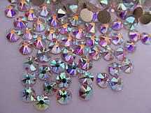 Стразы ss16 Crystal AB, Xirius 16 граней, 100шт. (4.0мм)
