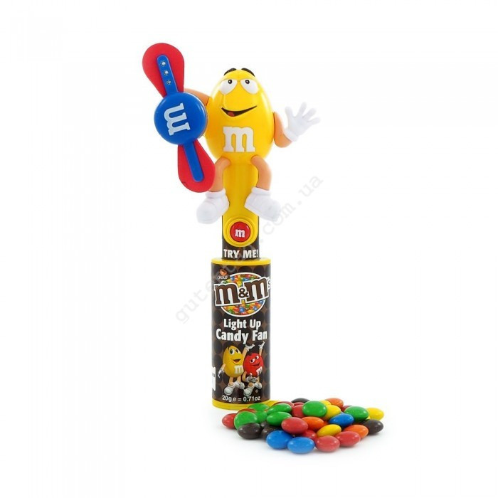 Вентилятор M&m's Light Up Candy Fan