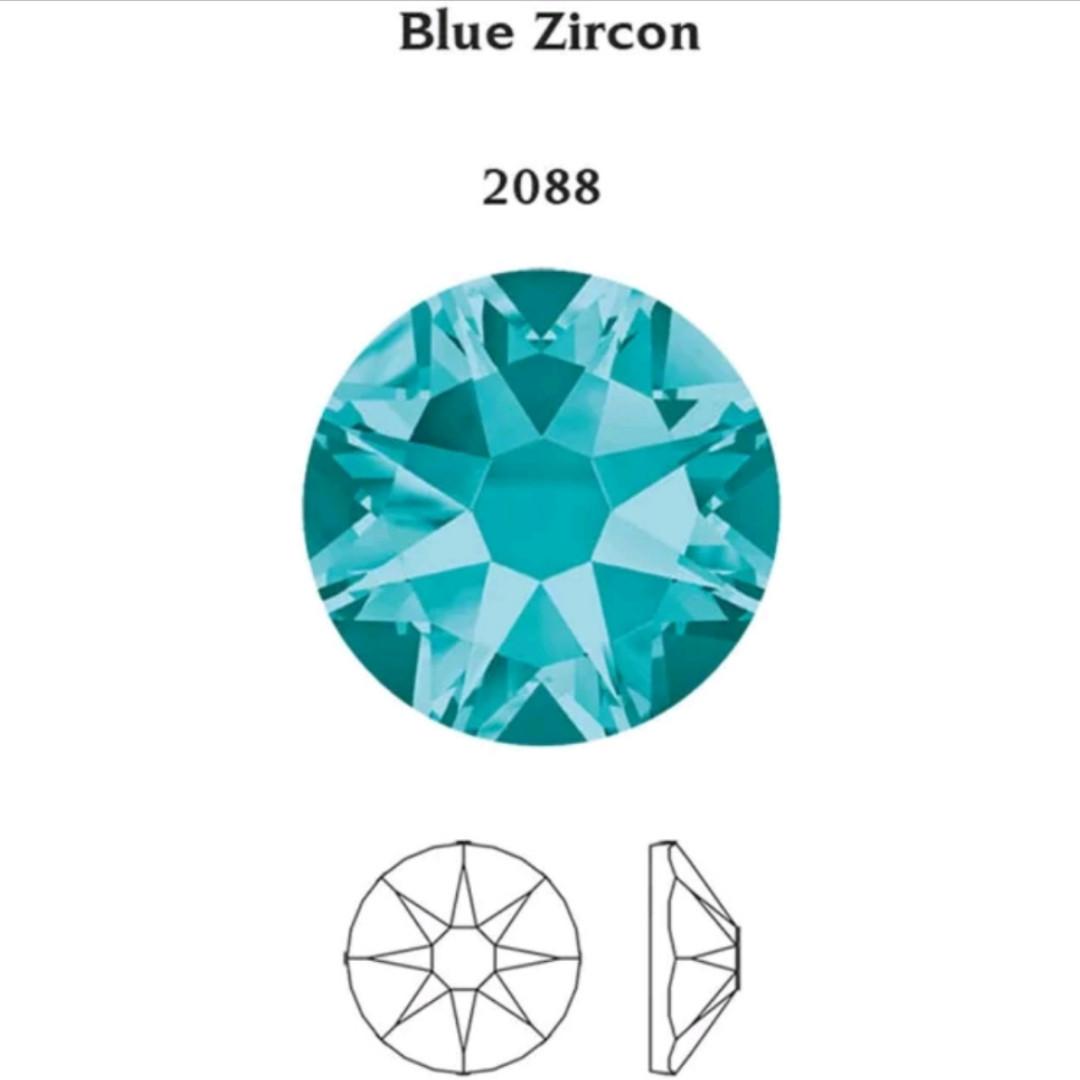 Стразы ss20 Green Zircon, Xirius, NEW, 16 граней, 100шт. (5,0мм)