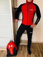Спортивный костюм Under Armour RED/BLACK, фото 1