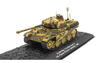 Модель коллекционная Боевых машин ALTAYA №67 Pz. Bef. Wg.V Panther Ausf. G 116 Pz. Div.