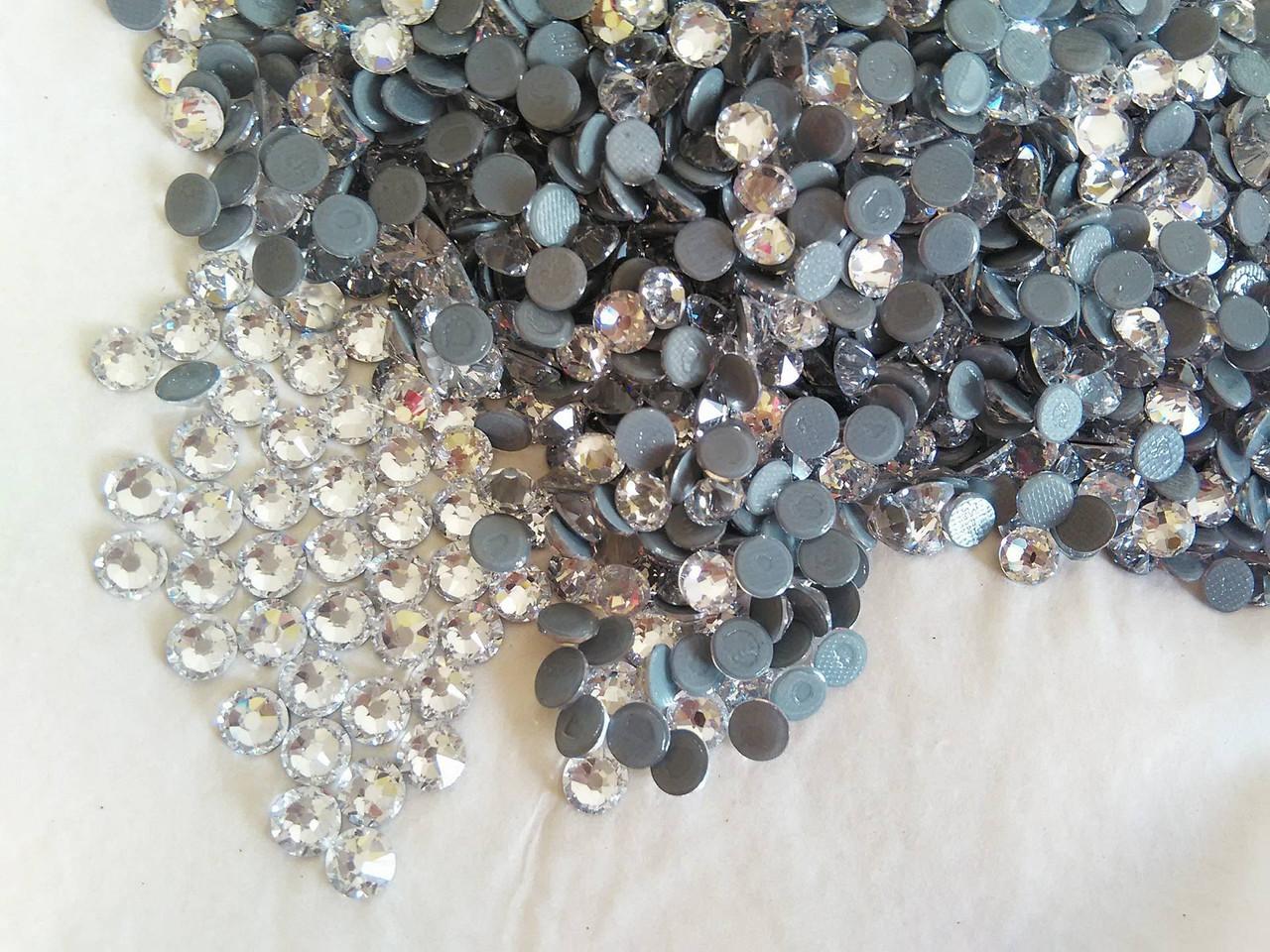 Термо-стразы ss20 Crystal, Xirius 16 граней, 1440шт. (4,6-4,8мм)
