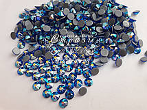 Термо-стразы ss20 Sapphire AB, Xirius, NEW, 16 граней, 1440шт. (4,6-4,8мм)