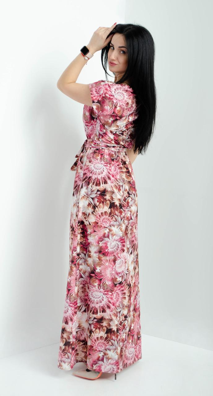 de9ee3b056a5 Женское летнее платье в пол. Размеры 52-54