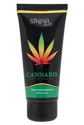 Интимная смазка Sinful Pleasures Lube Cannabis 100 ml