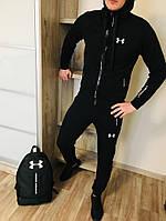 Спортивный костюм Under Armour BLACK. Двунить