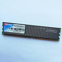 Игровая оперативная память Patriot DDR2 2Gb 800MHz PC2 6400U CL5 (PDC24G6400ELK) Б/У, фото 1