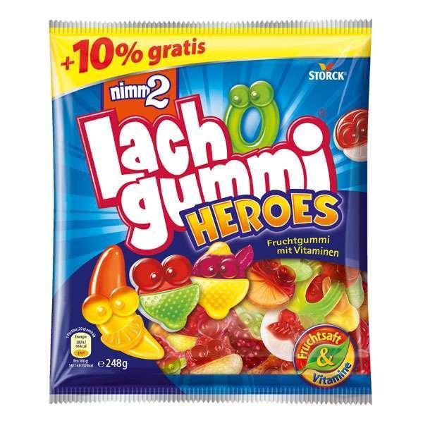 Жевательные конфеты Lach Gummi Heroes nimm 2