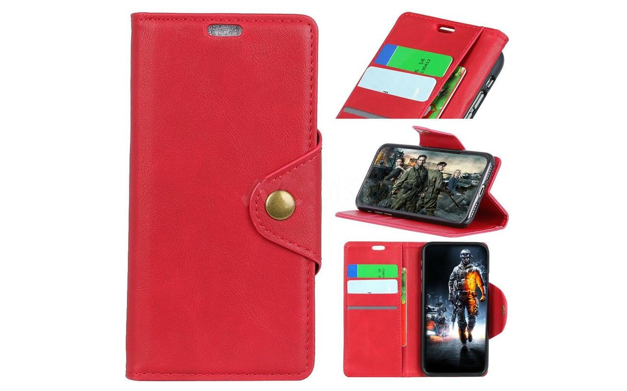 Чехол-книжка для Sony Xperia XZ3 - Red - Vintage Cover