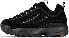 Женские кроссовки Fila Disruptor II FW04481-001 Black, Фила Дизраптор