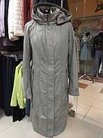 Акция! Демисезонный женский плащ пальто  Gessica Sabrina, Mishele 16095, 50, 52, 56 размер супер качество