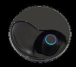 Беспроводные наушники блютуз-гарнитура с зарядным кейсом 500 мА*ч. Wi-pods К10 наушники Bluetooth 5.0.Черные, фото 5
